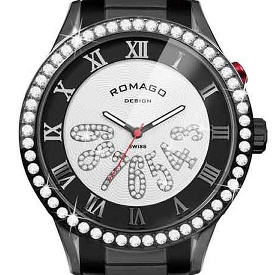 【ロマゴデザイン】腕時計 RM019-0214SS-BKBKユニセックス メンズ レディース ROMAGODESIGN 正規品 新作 人気 流行 ブランド