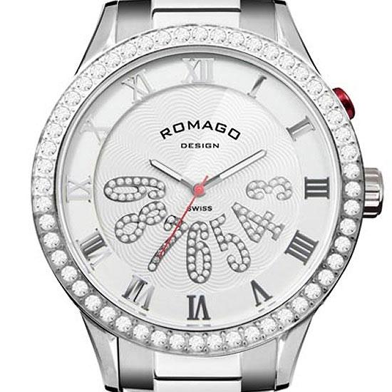 【ロマゴデザイン】腕時計 RM019-0214SS-SVWHユニセックス メンズ レディース ROMAGODESIGN 正規品 新作 人気 流行 ブランド
