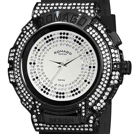 【ロマゴデザイン】腕時計 RM025-0256PL-BKBKユニセックス メンズ レディース ROMAGODESIGN 正規品 新作 人気 流行 ブランド