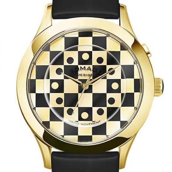 【ロマゴデザイン】腕時計 RM052-0314ST-GDBKユニセックス メンズ レディース ROMAGODESIGN 正規品 新作 人気 流行 ブランド