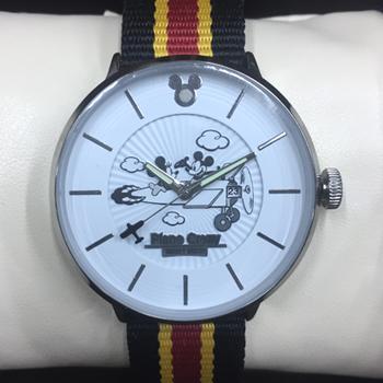 ディズニー ミッキーマウス プレーンクレージー ウォッチ 88th アニバーサリー 腕時計 PIane Crazy 替え用ベルト2本付き