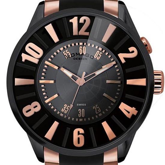【ロマゴデザイン】腕時計 RM007-0053SS-RGユニセックス メンズ レディース ROMAGODESIGN 正規品 新作 人気 流行 ブランド