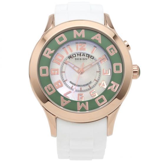 【ロマゴデザイン】腕時計 RM015-0162PL-RGGRユニセックス メンズ レディース ROMAGODESIGN 正規品 新作 人気 流行 ブランド