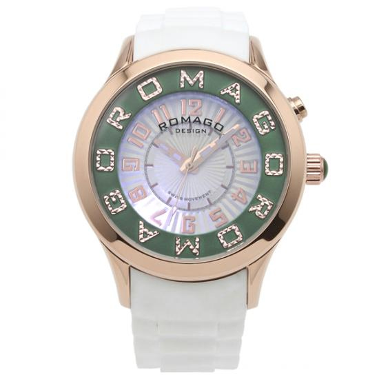 【ロマゴデザイン】腕時計 RM067-0162PL-RGGRレディース ROMAGODESIGN 正規品 新作 人気 流行 ブランド