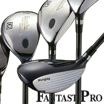 FANTAST PRO ゴルフクラブ ファンタストプロ 短尺ユーティリティ (1本) ヘッドカバー付き GOLF メンズ レディース