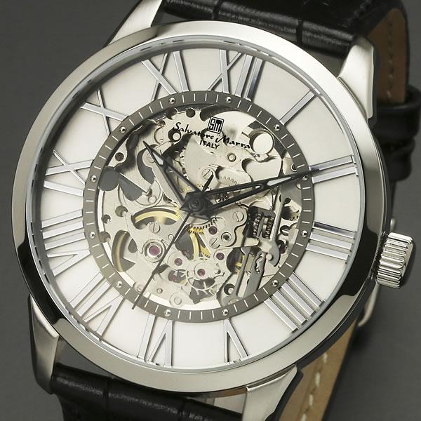 【サルバトーレ・マーラ】手巻き機械式腕時計 SM16101-SSWHメンズ Salvatore Marra サルバトーレマーラ