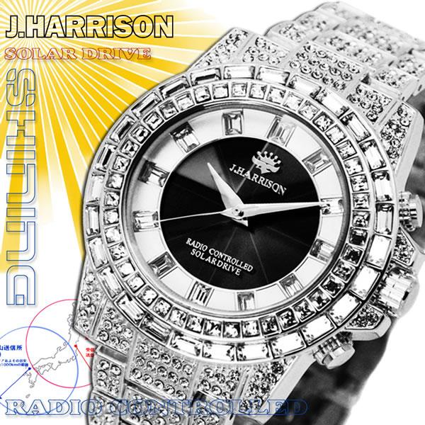 ジョン・ハリソン[J.HARRISON]シャニングソーラー メンズ 電波時計 JH-025SB メンズ 紳士用