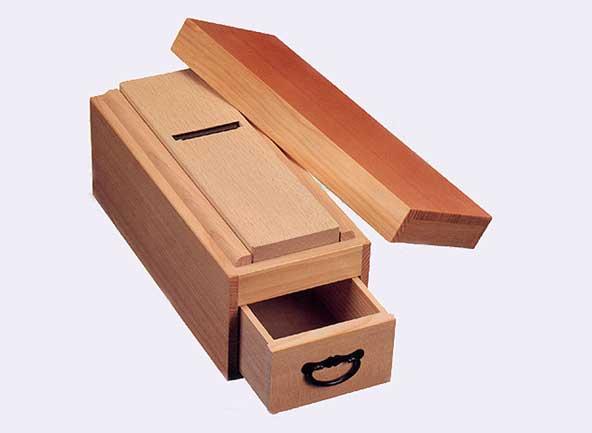 替刃式鰹節削り器 匠(たくみ) 白樫 K7745