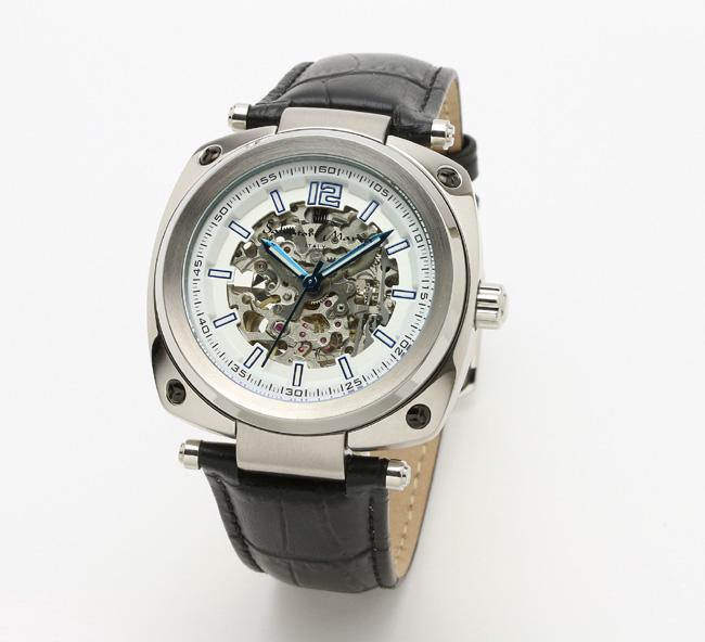 【サルバトーレ・マーラ】自動巻き時計・懐中時計にも! SM18114-SSWHメンズ Salvatore Marra サルバトーレマーラ