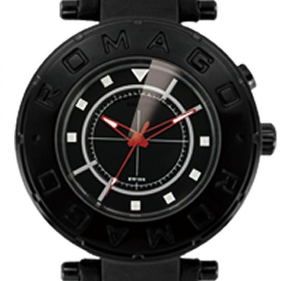 【ロマゴデザイン】腕時計 RM002-0055ST-BKユニセックス メンズ レディース ROMAGODESIGN 正規品 新作 人気 流行 ブランド