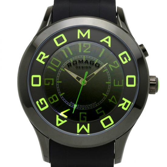【ロマゴデザイン】腕時計 RM015-0162PL-LUGRユニセックス メンズ レディース ROMAGODESIGN 正規品 新作 人気 流行 ブランド