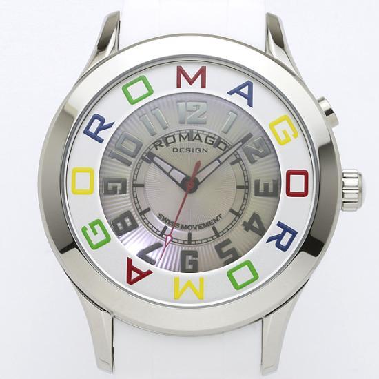 【ロマゴデザイン】腕時計 RM015-0162PL-SVCLユニセックス メンズ レディース ROMAGODESIGN 正規品 新作 人気 流行 ブランド