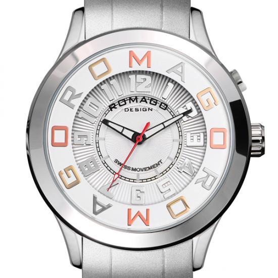 【ロマゴデザイン】腕時計 RM015-0162PL-SVSVユニセックス メンズ レディース ROMAGODESIGN 正規品 新作 人気 流行 ブランド