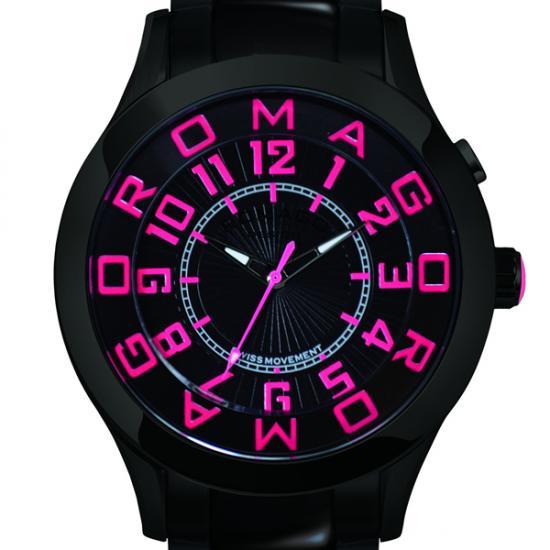 【ロマゴデザイン】腕時計 RM015-0162SS-LUPKユニセックス メンズ レディース ROMAGODESIGN 正規品 新作 人気 流行 ブランド