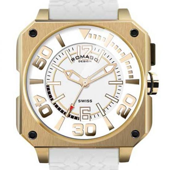 【ロマゴデザイン】腕時計 RM018-0073PL-GDユニセックス メンズ レディース ROMAGODESIGN 正規品 新作 人気 流行 ブランド