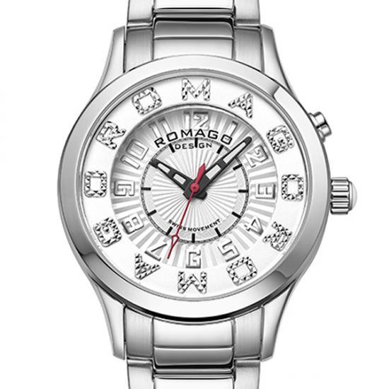 【ロマゴデザイン】腕時計 RM067-0162SS-SVWHレディース ROMAGODESIGN 正規品 新作 人気 流行 ブランド