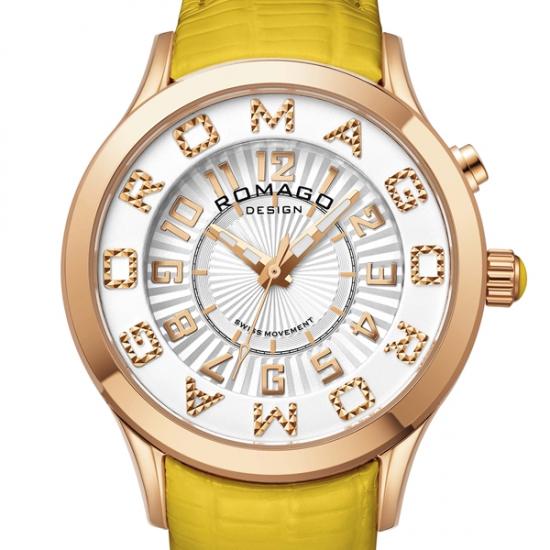 【ロマゴデザイン】腕時計 RM067-0162ST-YEレディース ROMAGODESIGN 正規品 新作 人気 流行 ブランド