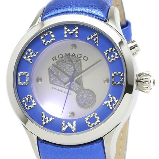 【ロマゴデザイン】腕時計 RM067-0483ST-BUレディース ROMAGODESIGN 正規品 新作 人気 流行 ブランド