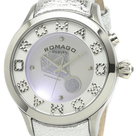 【ロマゴデザイン】腕時計 RM067-0483ST-SVレディース ROMAGODESIGN 正規品 新作 人気 流行 ブランド