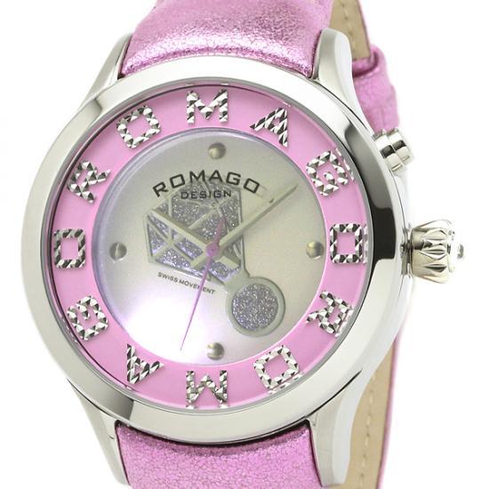 【ロマゴデザイン】腕時計 RM067-0483ST-PKレディース ROMAGODESIGN 正規品 新作 人気 流行 ブランド