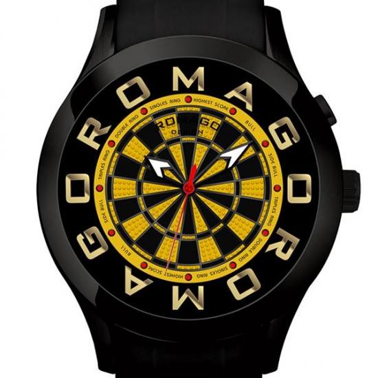 【ロマゴデザイン】腕時計 RM015-0536PL-BKYEユニセックス メンズ レディース ROMAGODESIGN 正規品 新作 人気 流行 ブランド