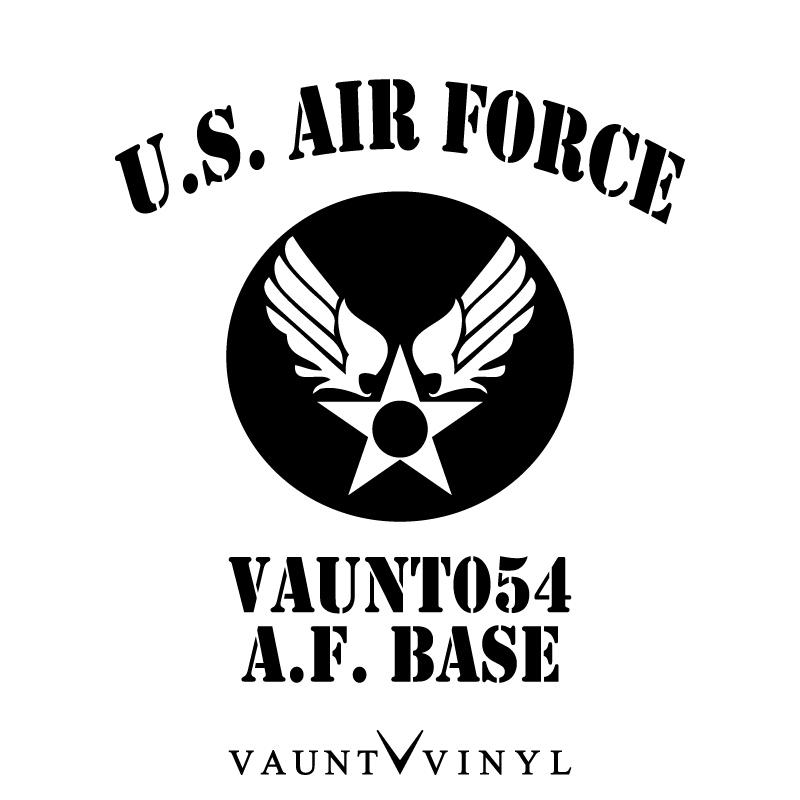 Vaunt Vinyl Sticker Store U S Air Force Cutting Sticker Air Force