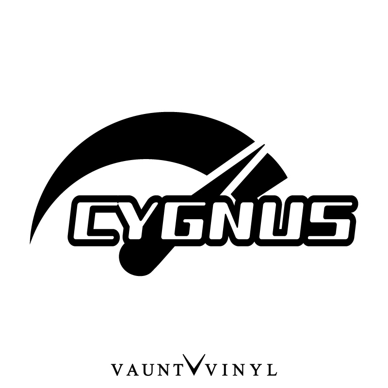 Vaunt Vinyl Sticker Store Speed Cygnus Cygnus Sticker