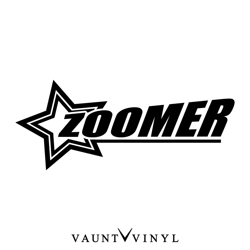 Vaunt Vinyl Sticker Store Rakuten Global Market Star Zoomer