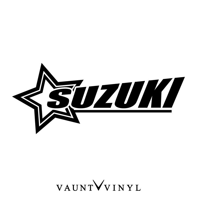 vaunt vinyl sticker store  star suzuki sticker suzuki gsx