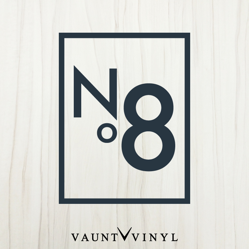 VAUNT VINYL sticker store: No.8 number eight wall stickers 8 8 ...