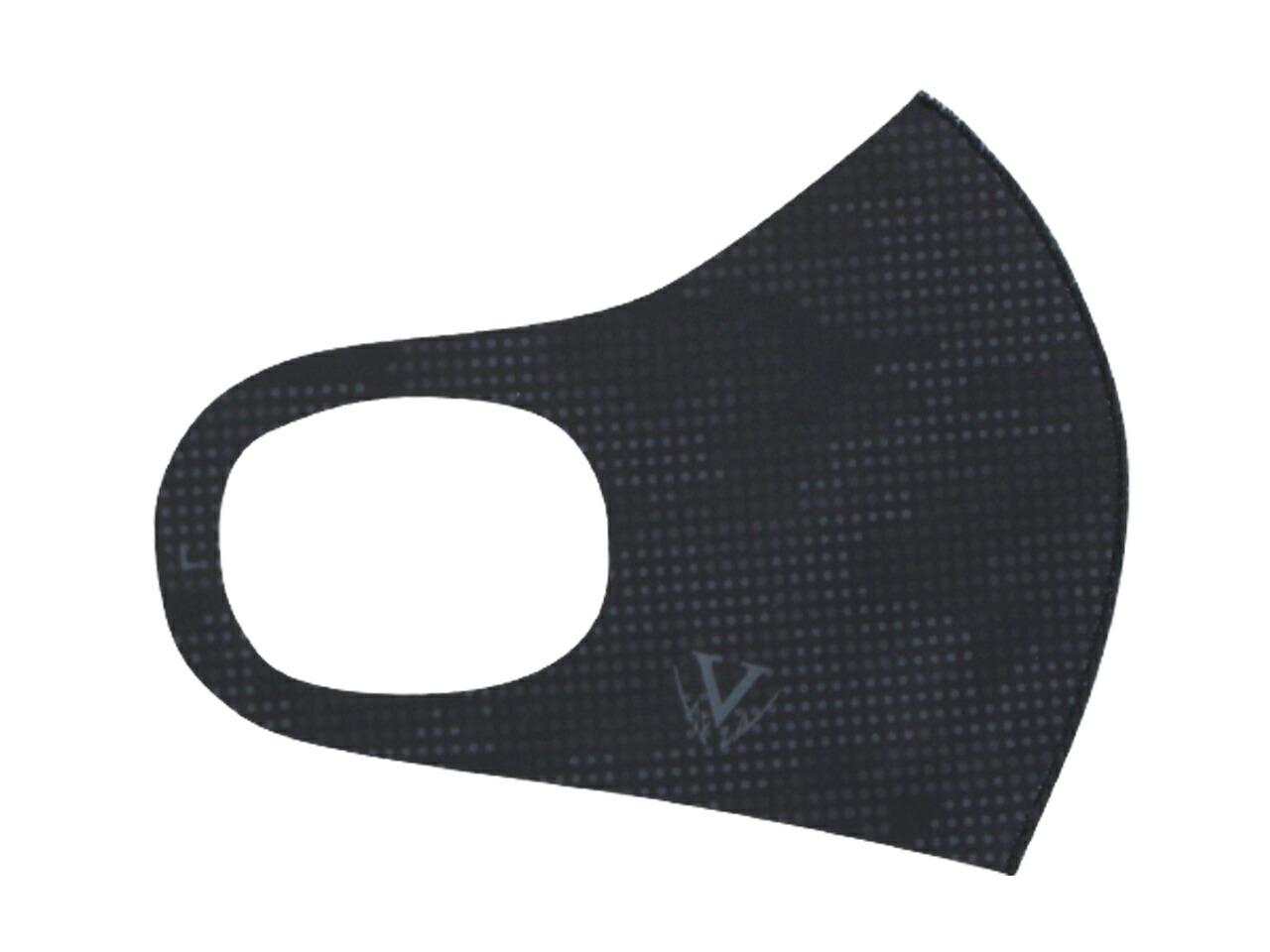 ドットカモフラージュマスク 売買 ライト メーカー直売 _2枚入り - OL BLK ブラック