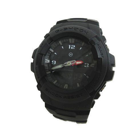 【中古】カシオジーショック CASIO G-SHOCK ×フラグメント FRAGMENT 腕時計 5158 ウォッチ the POOL 2015年製 黒 ブラック メンズ 【ベクトル 古着】 200523 ベクトル マークスラッシュ