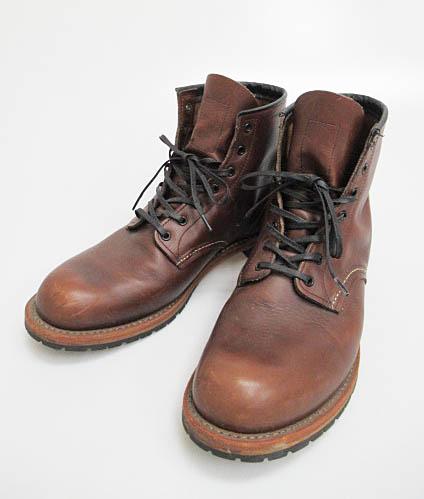 レッドウィング REDWING 9016 BECKMAN ROUND BOOTS ベックマン ラウンド ブーツ29.0cm茶ブラウン ブランド古着ベクトル 中古▲171204 0102 メンズ