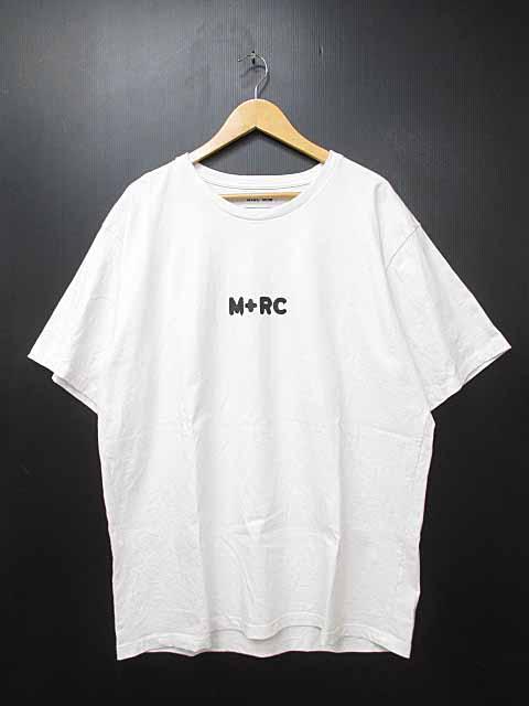 マルシェノア M+RC NOIR 18ss BIG M TEE 半袖Tシャツ XL白ホワイト ブランド古着ベクトル 中古180726 0070 メンズ 【中古】【ベクトル 古着】 180726 プリマベーラ