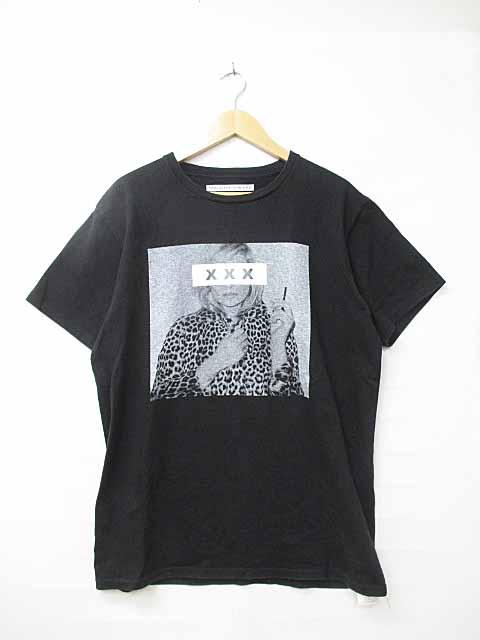 【中古】ゴッドセレクション トリプルエックス GOD SELECTION XXX 初期 ケイトモス Tシャツ L黒ブラック ブランド古着ベクトル 中古181010 0100 メンズ 【ベクトル 古着】 181010 プリマベーラ
