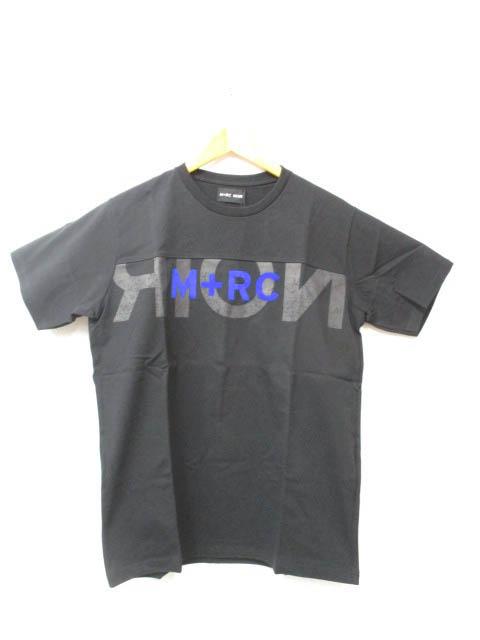 M+RC NOIR マルシェノア 18SS BIG LOGO TEE ビッグ ロゴ Tシャツ S 黒ブラック ブランド古着ベクトル 中古181221 0100 103 メンズ