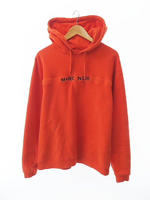 【中古】マルシェノア M+RC NOIR Pullover Hoodie プルオーバー パーカー L オレンジ ブランド古着ベクトル 中古190410 0110 メンズ