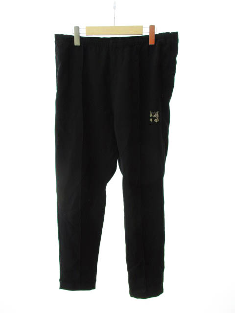 【中古】 ニードルス Needles Warm-UP Pant ウォームアップ パンツ M ブラック 黒 ブランド古着ベクトル 中古 190421 0025 メンズ