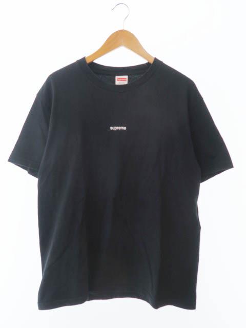 【中古】シュプリーム SUPREME 18SS FTW Tee Fuck The World ロゴ 刺繍Tシャツ M 黒ブラック ブランド古着ベクトル 中古☆AA★190502 0078