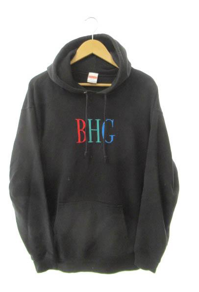 【中古】 BADHOP バッドホップ BHG パーカー XL 黒ブラック ブランド古着ベクトル 中古 190507 0060 メンズ