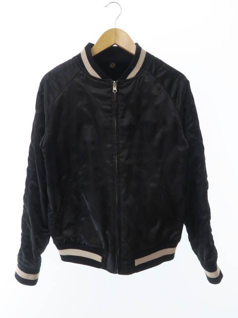 【中古】 ダブルジェイケイ wjk 16AW souvenir jacket スーベニア ジャケット スカジャン M ブラック ブランド古着ベクトル 中古● 190601 0050 メンズ