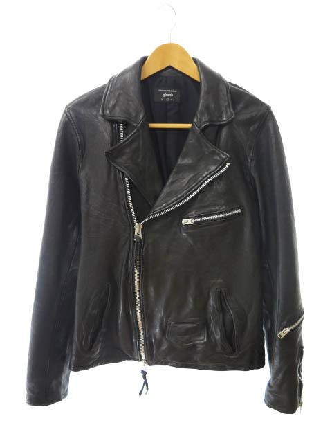 【中古】 グラム glamb Ernest riders GB17AT/JKT04 アーネスト ライダース ジャケット 2 黒ブラック ブランド古着ベクトル 中古190618 0100 メンズ