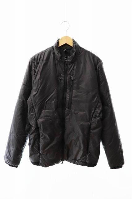 【中古】AURA オーラ BAZART Jacket ダウン ジャケット AUR103-BARRIO M ブラック 黒 ブランド古着ベクトル 中古● 190806 0040 メンズ