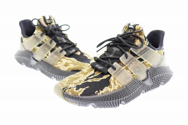 【中古】アディダス adidas ×UNDEFEATED CONSORTIUM PROPHERE CAMO AC8198 プロフィア スニーカー 27 カモフラ ブラック ブランド古着ベクトル 中古▲ 190915 0060 メンズ