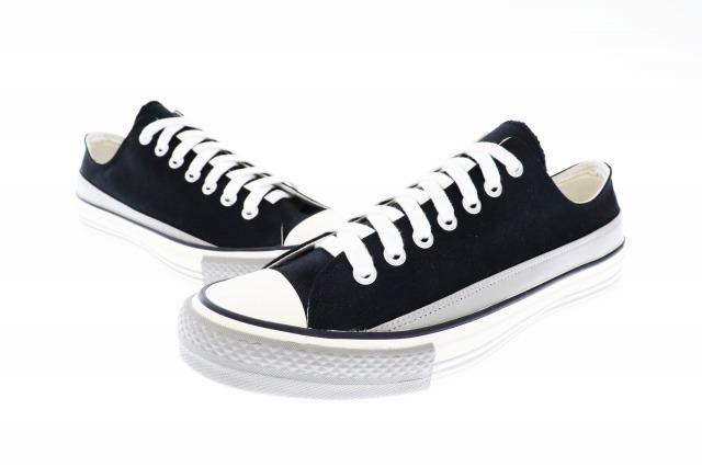 【中古】アンダーカバー UNDERCOVER 13AW Sneaker Pack ローカット キャンバス×レザー スニーカー L9F02 XL ブラック ブランド古着ベクトル 中古▲ 200215 0080 メンズ