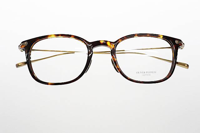 【中古】オリバーピープルズ OLIVER PEOPLES Erran ウェリントン コンビネーション フレーム 眼鏡 めがね ブラウン ゴールド ブランド古着ベクトル 中古▲200124 0060 メンズ