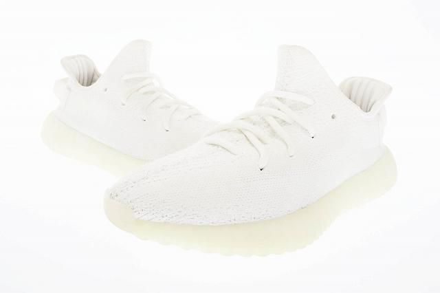 【中古】アディダス adidas YEEZY BOOST 350 V2 cream white イージーブースト クリーム CP9366 25 ホワイト ブランド古着ベクトル 中古▲■☆AA★200427 0080