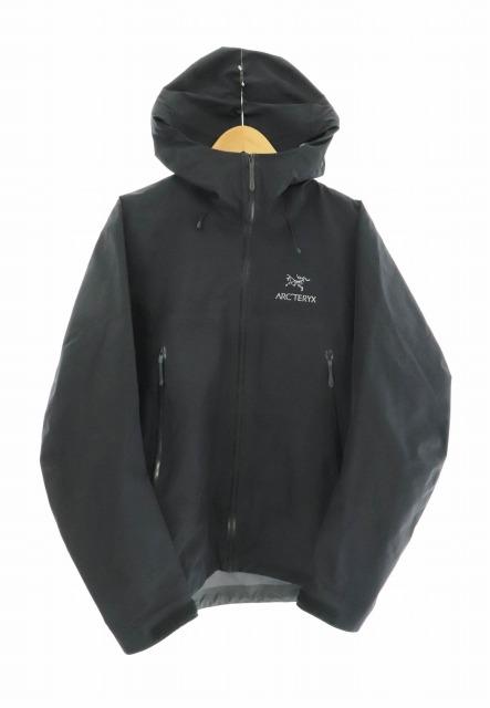 【中古】アークテリクス ARC'TERYX Beta LT Jacket ベータ ライトウェイト ジャケット ナイロン フーディー 18007 S 黒 ブラック ブランド古着ベクトル 中古 200218 0140