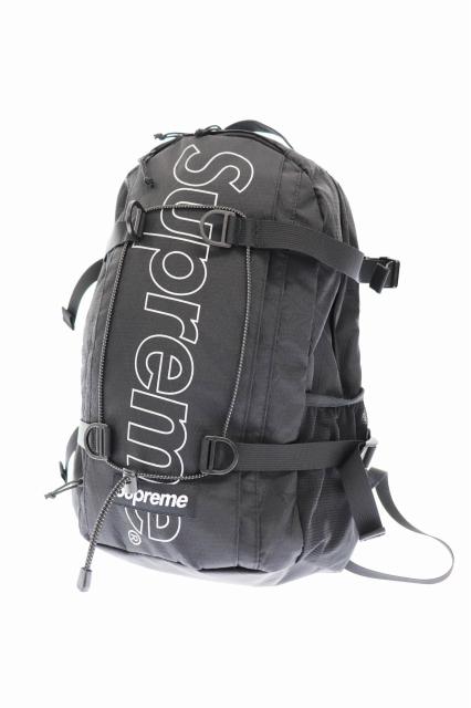 【中古】シュプリーム SUPREME 18AW Backpack ボックス ロゴ バックパック リュック 黒 ブラック ブランド古着ベクトル 中古☆AA★▲200622 0120 メンズ
