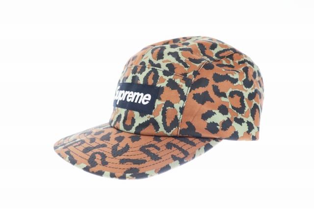 【中古】シュプリーム SUPREME GORE-TEX Leopard Camp Cap レオパード柄 ゴアテックス キャンプ ジェット キャップ マルチカラー ブランド古着ベクトル 中古☆AA★▲ 200825 0040